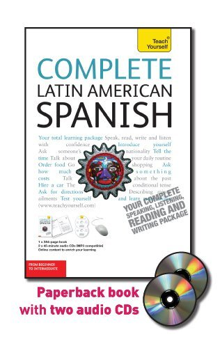 Complete Latin American Spanish with Two Audio CDs: A Teach Yourself Guide (TY: Complete Courses) by McGraw-Hill