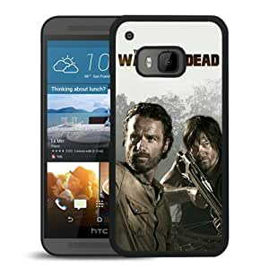 AZE Beautiful Fashion The Walking Dead 25 Black Case Cover For HTC ONE M9