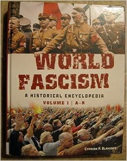 ผลการค้นหารูปภาพสำหรับ Encyclopedia of World Fascism