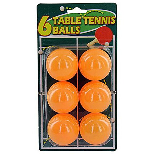 Set of six table tennis balls - Pack of 48 by bulk buys