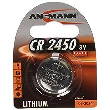 Ansmann 5020112 CR 2450 3V Lithium Battery (Silver)