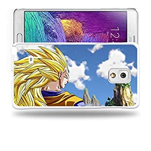 Case88 Designs Dragon Ball Z GT AF Son Gohan Super Saiyan 3 Son Goku Protective Snap-on Hard Back Case Cover for Samsung Galaxy Note 4