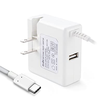 【本日限定】Ewin 折りたたみ式プラグ採用 USB-Cケーブル一体型急速充電器 USB-Aポート付 税込1,344円 プライム会員送料無料
