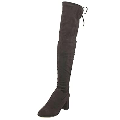 91fb829dfcf Steve Madden New Womens Osana Black Fashion Boots Size 7.5
