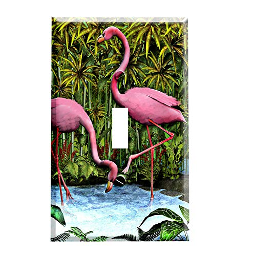 Flamingos Switchplate - Switch Plate Cover