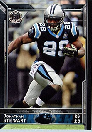 Amazon.com  2015 Topps  43 Jonathan Stewart - Carolina Panthers NFL  Football Card (60th Anniversary LOGO Special Edition)  Collectibles   Fine  Art a7ac6a888