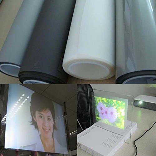 HOHO Transparent Holografic PET Marterial Rear Projection Film (1.5mx2m) by HOHO (Image #4)