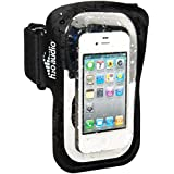 H2O Audio Universal Waterproof Phone Case with Armband Amphibx Touchscreen Floatable Pouch Bag for iPhone 8, 7 (with headphone adapter), 6, 6S, 5, 5S, 5C, SE, iPod touch