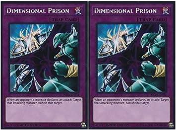 Dimensional Prison NKRT-EN034 Platinum Rare Limited Edition YuGiOh Card Mint