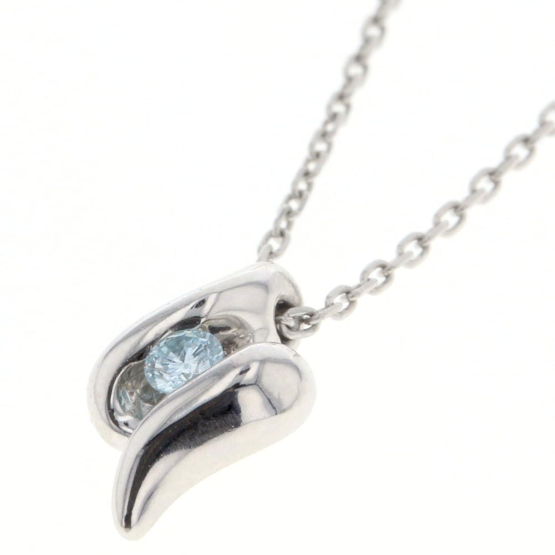 (4℃) ヨンドシー 1P ネックレス プラチナPT850/ダイヤモンド ダイヤモンド0.05ct レディース 中古 [PD2] B07D5SWYKD