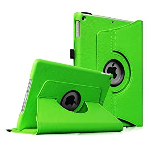 Fintie iPad mini 1/2/3 Case - 360 Degree Rotating Stand Case Cover with Auto Sleep / Wake Feature for Apple iPad mini 1 / iPad mini 2 / iPad mini 3, Green