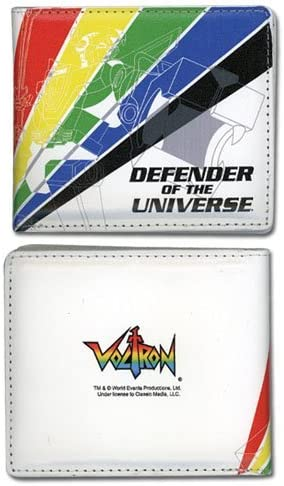 Voltron Defender of The Universe Bi-Fold Wallet