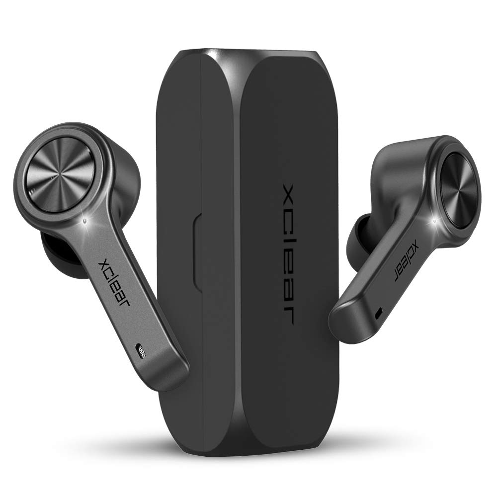 XClear Wireless Earbuds with Immersive Sounds True 50 Bluetooth inEar Headphones with Charging