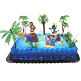Amazon.com: Lilo and Stitch 15 Piece Birthday Cake Topper ...