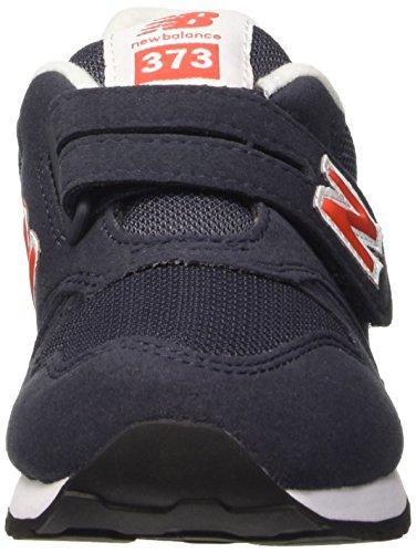 New Balance NBKV373VRP - zapatos Walking Baby Unisex Niños Azul Marino / Rojo