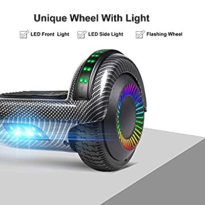 UNI-SUN Bluetooth Hoverboard for Kids, 6.5