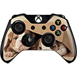 Animal Photography Xbox One Controller Skin - Bulldog Puppies Vinyl Decal Skin For Your Xbox One Controller