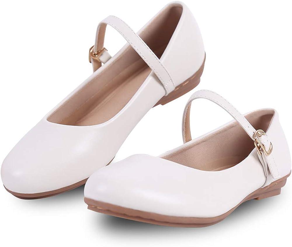 Mary Jane Schuhe f/ür Frauen Square Toe Classic Shallow Mouth Court Schuhe Einfacher Stil Schnallenriemen B/ürokleid Schuhe