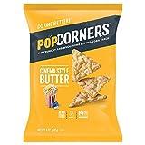 corn poppers chips - POPCORNERS Cinema Style (Butter), Popcorn Chips, Single Serve (5oz/12 Pack)