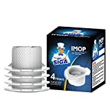 MR. SIGA IMOP Vacuum Cleaner Mop Filter, Pack of 4