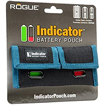 Rogue Photographic Design ROGUEBTRY Indicator Battery Pouch (Black)