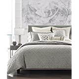 Hotel Collection Connections Charcoal Grey QUEEN Duvet Cover