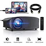 """Best Lcd Projectors - GBTIGER 4000 Lumens Projector, Video Projector 200"""" LCD Review"""