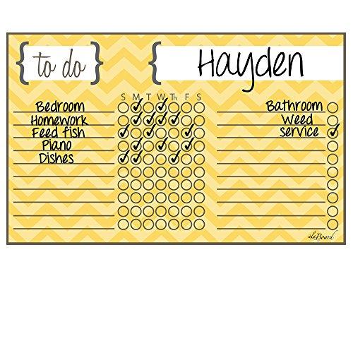 yellow chart paper - 8