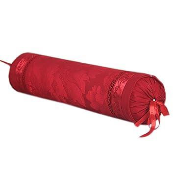 Amazon.com: Pearl algodón Jacquard Cuello almohadas Candy ...