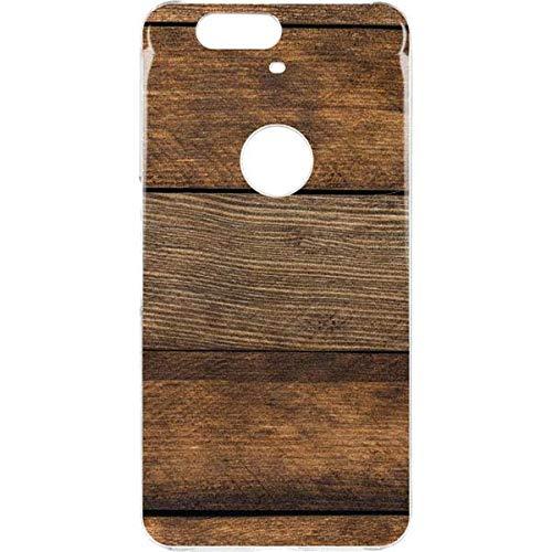 newest 793c9 1df3a Amazon.com: Skinit Wood Google Nexus 6P LeNu Case - Early American ...