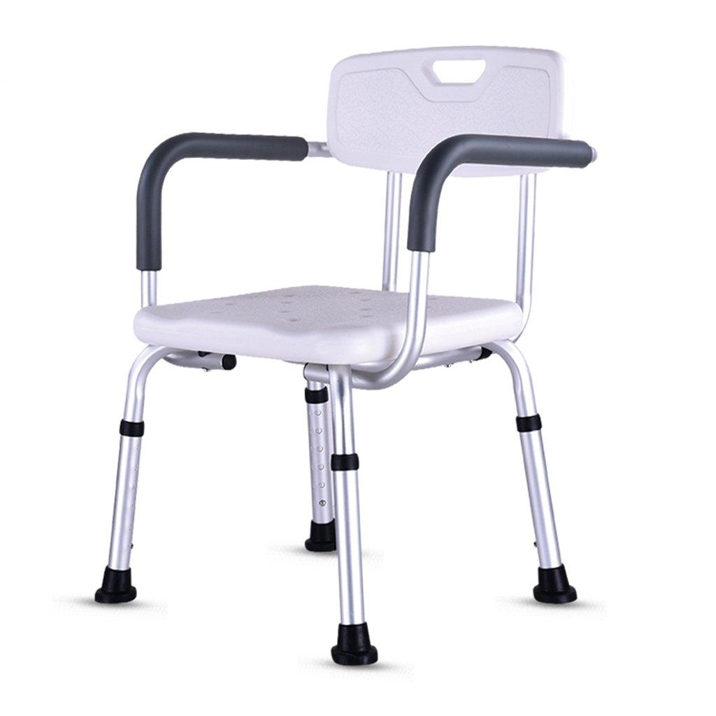 最も優遇 GRJH® シャワー椅子 GRJH®、高さ調節可能肘掛け付き背もたれ付き老人シャワー椅子バスルームアルミニウム合金シャワーチェア 防水,環境の快適さ B079GP5NMN B079GP5NMN, e-TATSUYA:3cd7f4c4 --- yelica.com