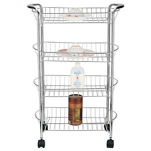 - 4 Tier Storage Cart