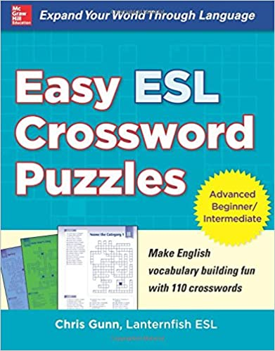 Easy ESL Crossword Puzzles Chris Gunn 9780071821346 Amazon Books