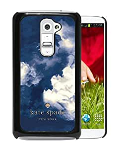 Fashionable And Unique Kate Spade Cover Case For LG G2 Black Phone Case 159