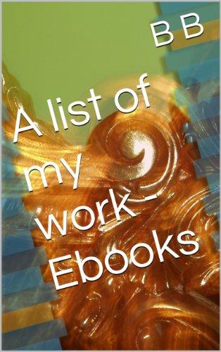 A list of my work - Ebooks