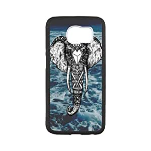 Durable Material Phone Case With Elephant Image On The Back For Samsung Galaxy S6
