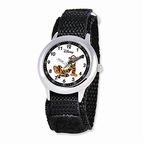 Friends Watch Time Teacher (Disney Pooh & Friends Tigger Black Velcro Band Time Teacher Watch)