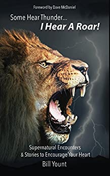 Some Hear Thunder... I Hear a Roar!: Supernatural Encounters & Stories to Encourage Your Heart by [Yount, Bill]