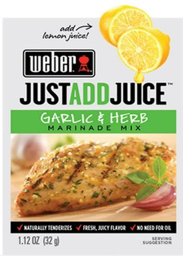 Weber Juice Marinade Garlic Ounce