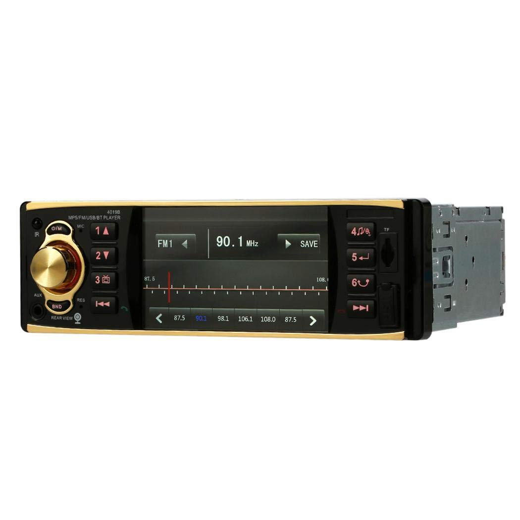 Lioder 4.1 inch TFT HD 1080P BT Car Radio MP5 Player in-Visor Video