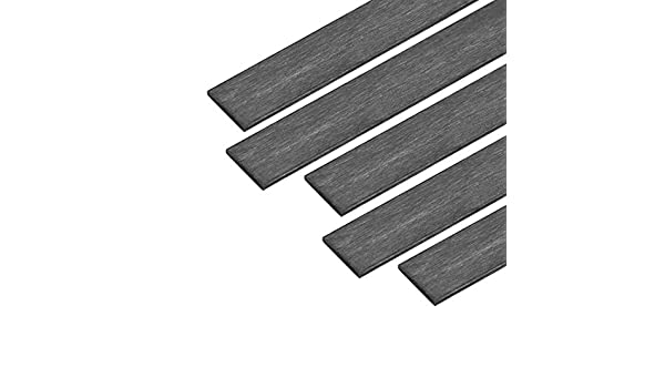 400 mm, 5 unidades Sourcingmap Barra de fibra de carbono para avi/ón RC