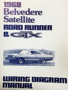 1968 plymouth satellite belvedere road runner \u0026 gtx factory
