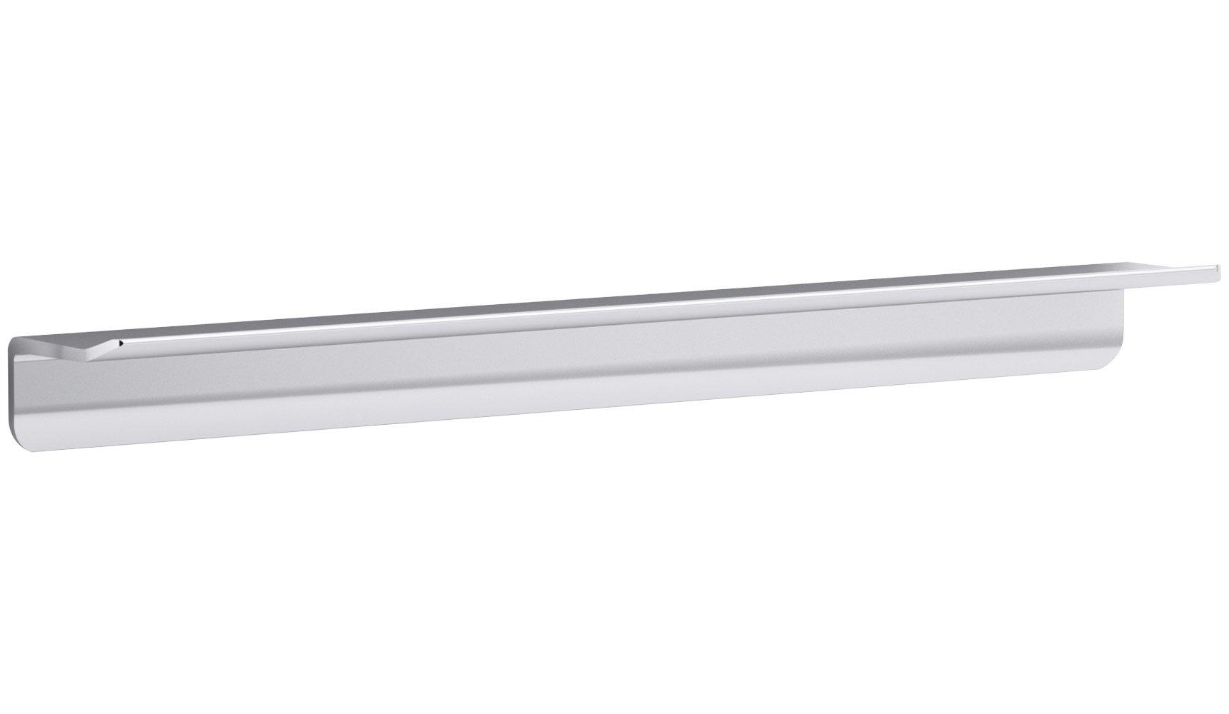 KOHLER K-97623-SHP Choreograph 21'' Floating Shower Shelf, Bright Polished Silver