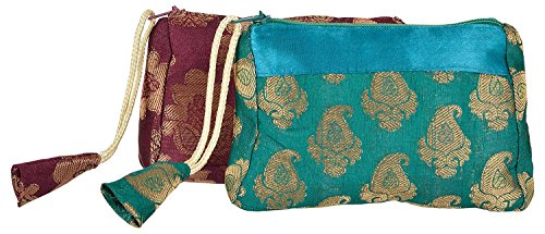 Silk Clutch Purse - 7