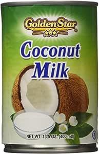 Golden Star Coconut Milk, 13.5 Ounce (Pack of 12)