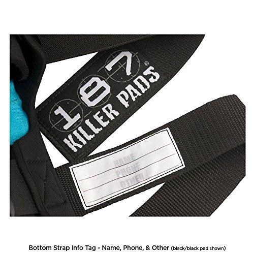 187 Killer Pro Derby Knee Pads - Black - Large by 187 Killer Pads (Image #2)
