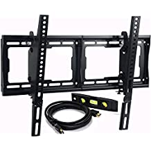 "VideoSecu Tilt TV Wall Mount for most 32"" 37"" 40"" 42"" 46"" 47"" 50"" 52"" 55"" 58"" 60"" 65"" 70"" 75"" LCD LED Plasma HDTV Flat Panel Screen Display CXX"