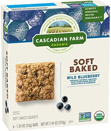Granola & Protein Bars: Cascadian Farms Soft Baked Squares