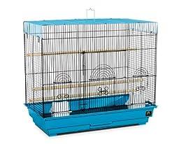 Prevue Hendryx Flight Cage, Blue and Black