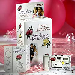 Wedding Cameras 5ct
